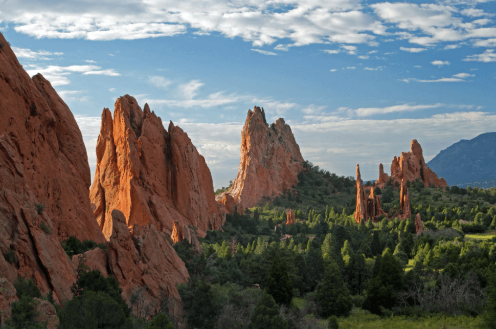 Explore The Garden Of The Gods